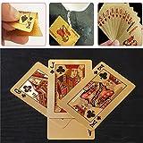 Bloomma Spielkarten des Poker perfekt für Spiele-Gesellschaft, Geschenke zu Weihnachten, 5.7cm X 8.8cm 2PCS