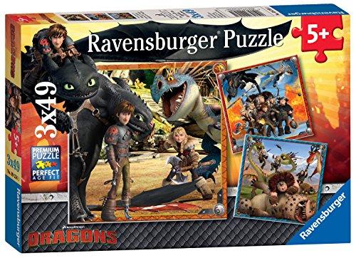 Ravensburger 09258 - Drachenreiter (Bücher In Filme Gemacht)