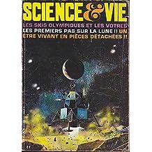 Science et vie n 605 les skis olympiques et les votres-les premiers pas sur la lune-etre vivant en pieces detachees