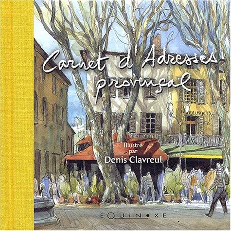 (violet) carnet d'adresses provencal