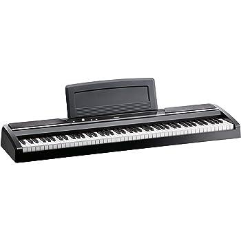 KORG SP-170S Digital Piano, Black, 88 Tasten, 2x9 Watt