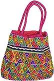 Exotic India Multi-Color Shopper Bag fro...