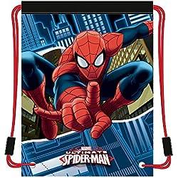 Mochila saco para el gimnasio - Modelo Spiderman