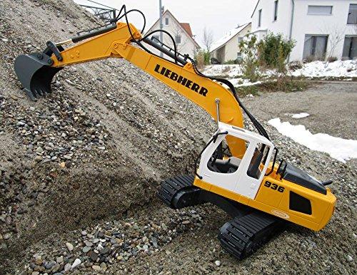 RC Auto kaufen Baufahrzeug Bild 4: RC Bagger Liebherr R936 1:20 2,4G Destruction-Set Ferngesteuertes