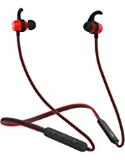 boAt Rockerz 255 Sports Bluetooth Wireless Earphone with Immersive Stereo Sound and Hands Free Mic (Raging Red)