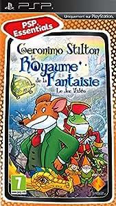 Geronimo stilton : le Royaume de la Fantaisie: Collection PSP essentials