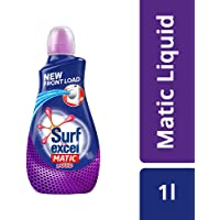 Surf Excel Matic Front Load Liquid Detergent - 1.02 L