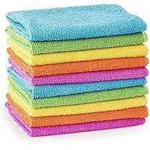 10/20/30/40/50 Microfibre Cleaning Cloths Dusters Car Bathroom Polish Towels (10)