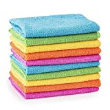 10/20/30/40/50 Microfibre Cleaning Cloths Dusters Car Bathroom Polish Towels (10)