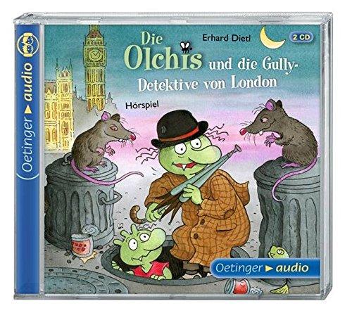 Die Olchis und die Gully-Detektive von London (2 CD): Hörspiel, ca. 120 Min.