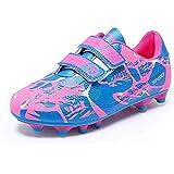 Scarpe da Calcio Bambino Ragazzi Ragazza Scarpe da Allenamento Unisex Sportive Sneakers Junior Leggero Scarpe da Ginnastica E