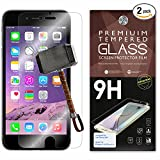 Cell Phones Accessories Best Deals - iPhone 6 Plus Screen Protector [Set of 2] - 5.5