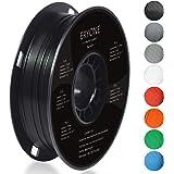 Filament PLA 1.75mm, Eryone PLA Filament 1.75mm, 3D Drucken Filament PLA for 3D Drucker, 1kg 1 Spool, Schwarz
