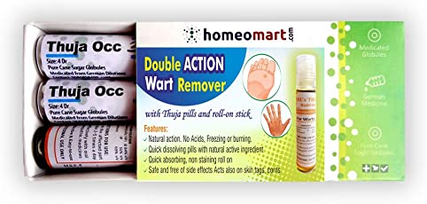 Double action Wart remover with Active Thuja Pills & Roll-on
