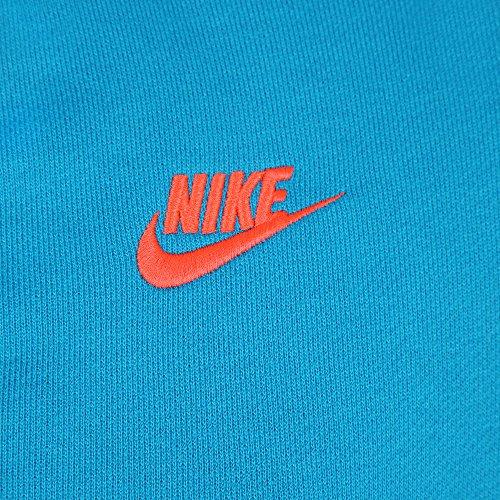 Nike Veste à capuche en polaire AW77 pour homme Bleu - Bleu