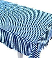 Masa Örtüsü Piti Kareli Zifir Mavi