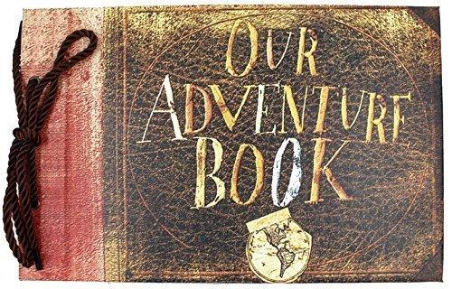 xiduobao Nuestra/Mi álbum de fotos de aventura Retro Álbum Recortes para DIY aniversario Anniversary álbum de recortes, álbum de fotos, álbum de fotos de boda, Our adventure book, large