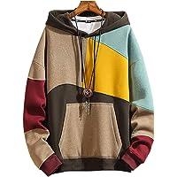 XIAOYAO Men's Sweatshirt Hoodies Top Blouse Tracksuits Long Sleeve