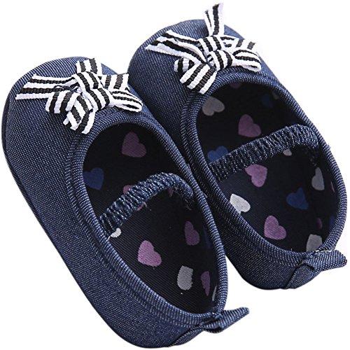 Etrack-Online , Baby Jungen Lauflernschuhe Blau Jeans Blue 12 - 18 Monate Jeans Blue
