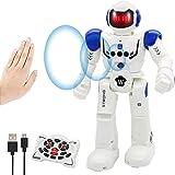Vindany Giocattolo RC Robot Telecomandato - Robot Giocattolo Programmabile Intelligente Interattivo Controllo Robot Sensazion