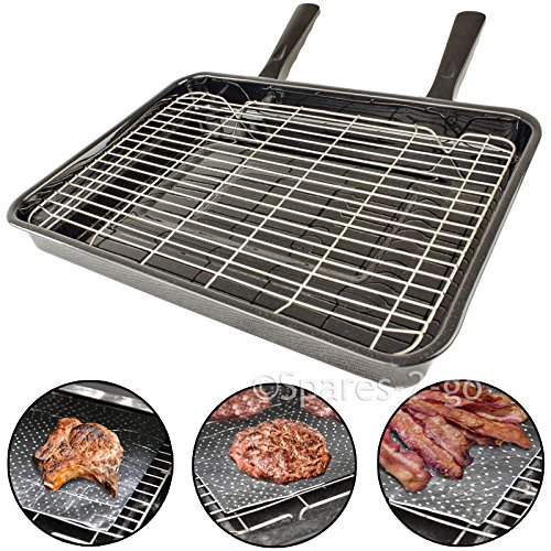 spares2go-universal-large-oven-cooker-grill-pan-tray-rack-detachable-handles-10-protective-fat-greas