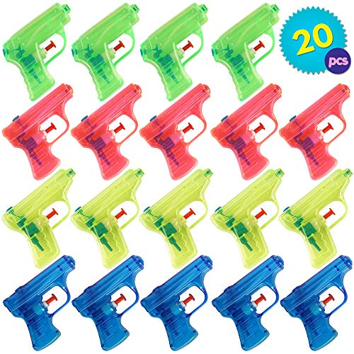 THE TWIDDLERS 20 pistolas de agua para fiestas