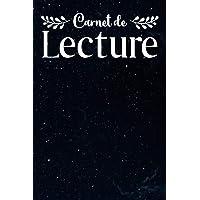Carnet de Lecture: Carnet de Lecteur & Lectrice/Mon Journal de Lecture à Remplir/Mes Lectures de Romans/Carnet de…