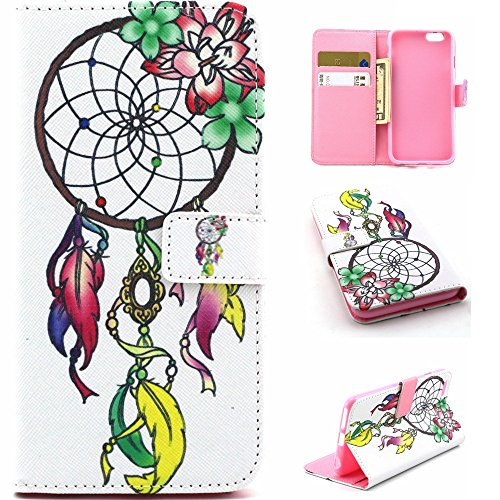 f9b14ec7bb6 Felfy iPhone 5S/6/6S/6 Plus,Sony Z3/Z4,LG G3/G3 MINI/G4,Samsung Galaxy S5/S6 /S6 Edge/Note 4/Note5/A3/A5/A7/A8 PU Leather Diamond Flip Case Wallet Cover  +1x ...