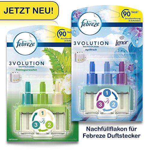 Preisvergleich Produktbild Febreze SET 3Volution Duftstecker 2x Nachfüllflakon Frühlingsduft + Aprilfrisch