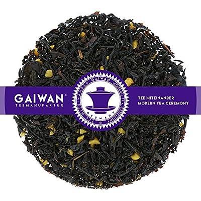 """N° 1342: Thé noir """"Amande"""" - feuilles de thé - GAIWAN® GERMANY - thé noir d'Inde, Chine, morceauxd'amande"""