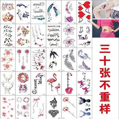 tzxdbh 10 Pezzi Adesivi per Tatuaggio Impermeabili Adesivi per Tatuaggio Arcobaleno 10 Pezzi 97 * 57