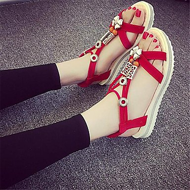RTRY Donna Sneakers Comfort Pu Molla Canvas Informale Comfort Piatto Bianco US7.5 / EU38 / UK5.5 / CN38