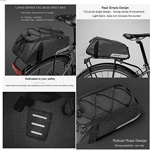 Roswheel Gepäckträger Tasche Seitentasche - 4