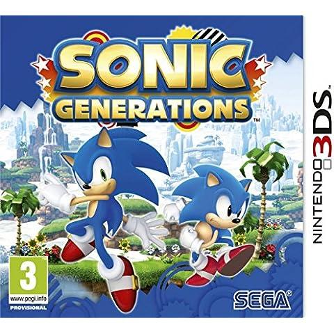 SEGA Sonic Generations, 3DS - Juego (3DS, Nintendo 3DS, Aventura, E (para todos), ENG)