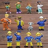 Feuerwehrmann Sam Figuren-Set für Kuchendekoration