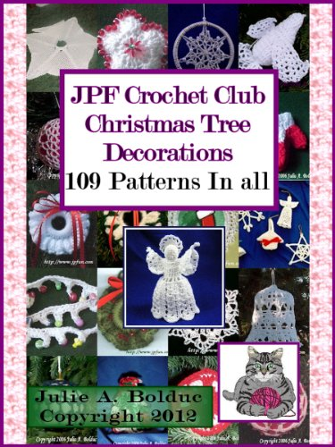 JPF Crochet Club Christmas Tree Decorations (English Edition) -