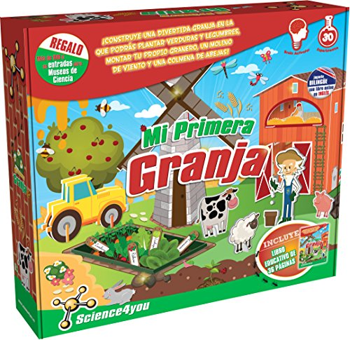 Science4you-Mi Mi Primera Granja, Juguete Educativo 600287