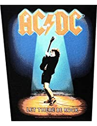 AC/dC rOCK bE tHERE rückenaufnäher lET backpatch écusson