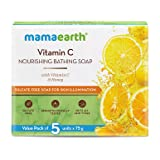 Mamaearth Vitamin C Nourishing Bathing Soap With Vitamin C and Honey for Skin Illumination – 5x75g