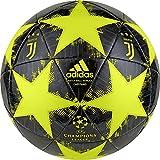 adidas Ballon finale18juvecpt, Unisexe–Adulte, shoyel/Yellow/Carbon, 5