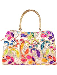 Walk In Closet Women's Handbag (Multi-Coloured, 17389)