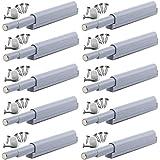 Magnetische Deur vangt Magnetische Latch Damper Buffer Open en sluit de Deur met een Single Push (10 Pack)