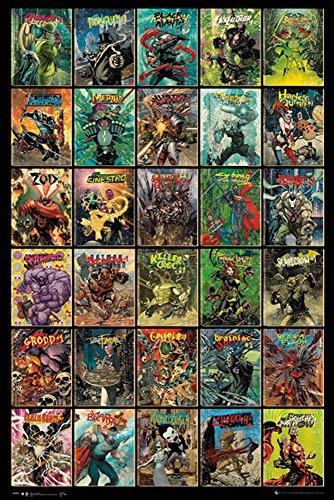 Dc Comics - Forever Evil Compilation - Film Kino Movie fernseh TV Poster Druck Grösse 61x91,5 cm