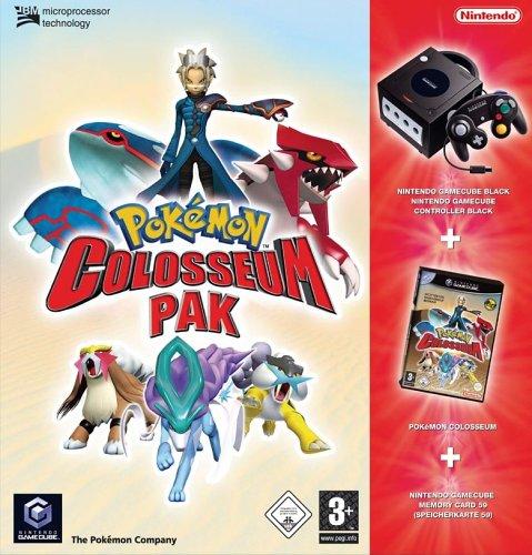 GameCube - Konsole, black inkl. Pokémon Colosseum + Memorykarte 59