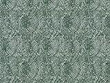 Vorhangstoff Jacquard Dune 2652/73 Muster Abstrakt grün