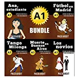 Spanish Novels: Begginer's Bundle A1 - Five Spanish Short Stories for Beginners in a Single Book (Learn Spanish Boxset #1)
