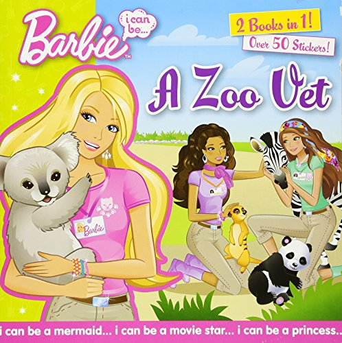 I Can Be...A Zoo Vet/I Can Be...A Cheerleader (Barbie) - Cheerleader-barbies