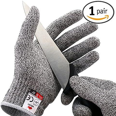 nocry Coupe résistant gants?Haute Performance, protection niveau 5, qualité alimentaire - X-Large