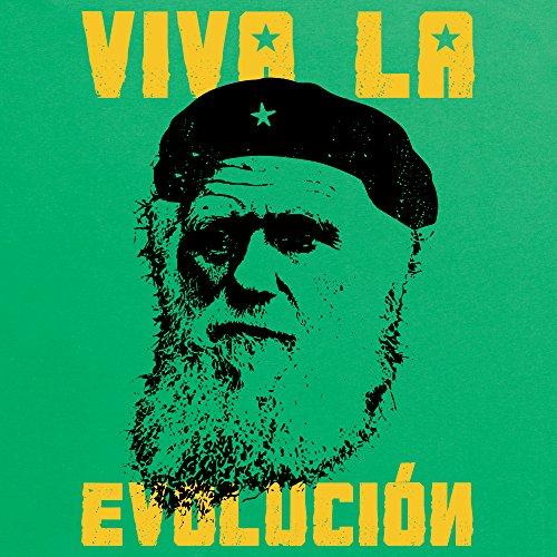 Darwin Viva La Evolucion T-Shirt, Damen Keltisch-Grn