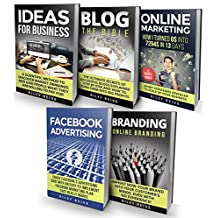 Digital Marketing: The Bible - 5 Manuscripts - Business Ideas, Branding, Blog, Online Marketing, Facebook Advertising (The Most Comprehensive Course Which ... Of Digital Marketing 2017) (English Edition)
